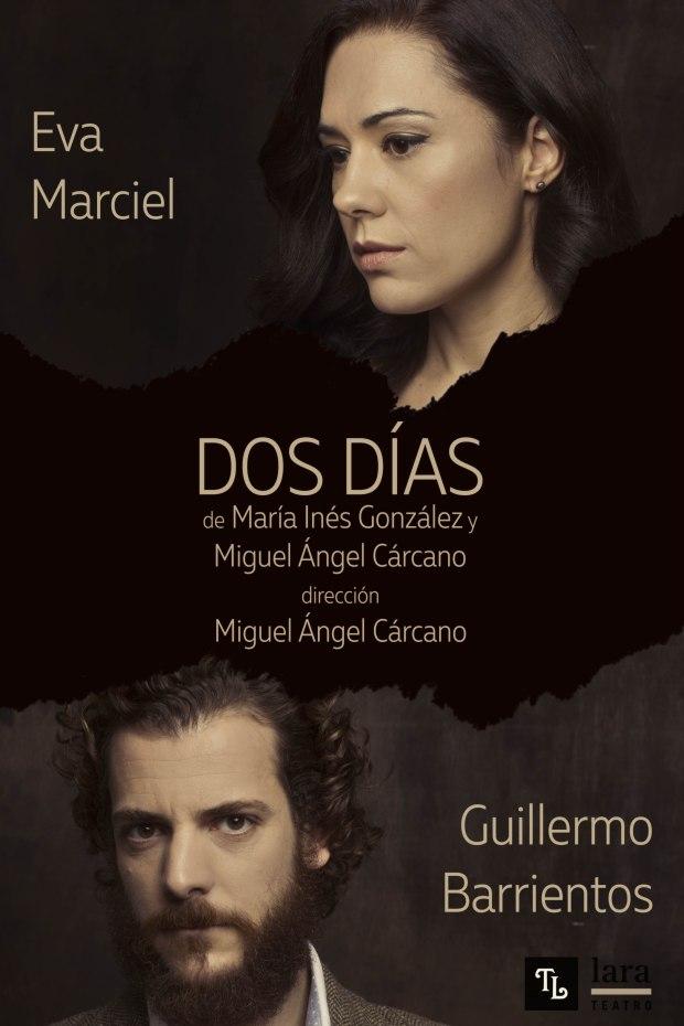 Cartel Dos Días Teatro Lara sala Lola Memorives Madrid